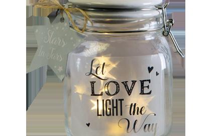 Starlight Bottles & Stars In Jars
